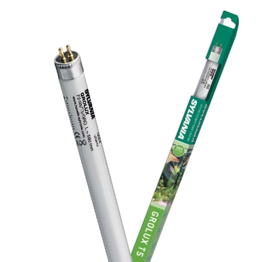SYLVANIA Tubes T5 Grolux tube horticole pour l\'éclairage de votre aquarium. 10 longueurs aux choix