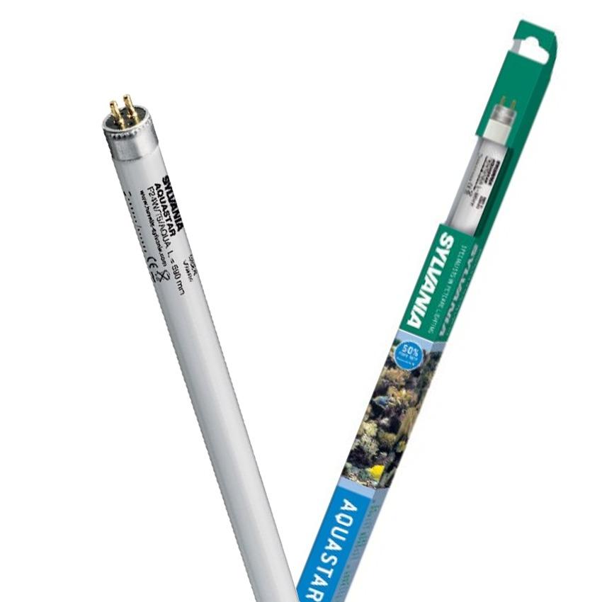 SYLVANIA Aquastar tubes T5 10000°K pour l\'éclairage d\'aquariums d\'eau douce et d\'eau de mer. 10 longueurs aux choix