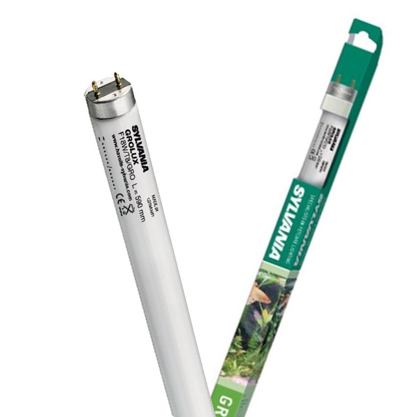 SYLVANIA Tubes T8 Grolux tube horticole pour l\'éclairage de votre aquarium. 9 longueurs aux choix