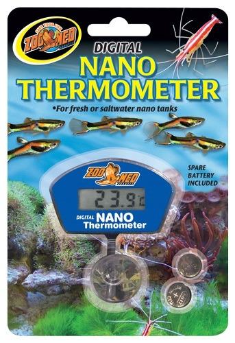 ZOOMED Nano Digital thermomètre électronique digital pour aquarium d\'eau douce et d\'eau de mer