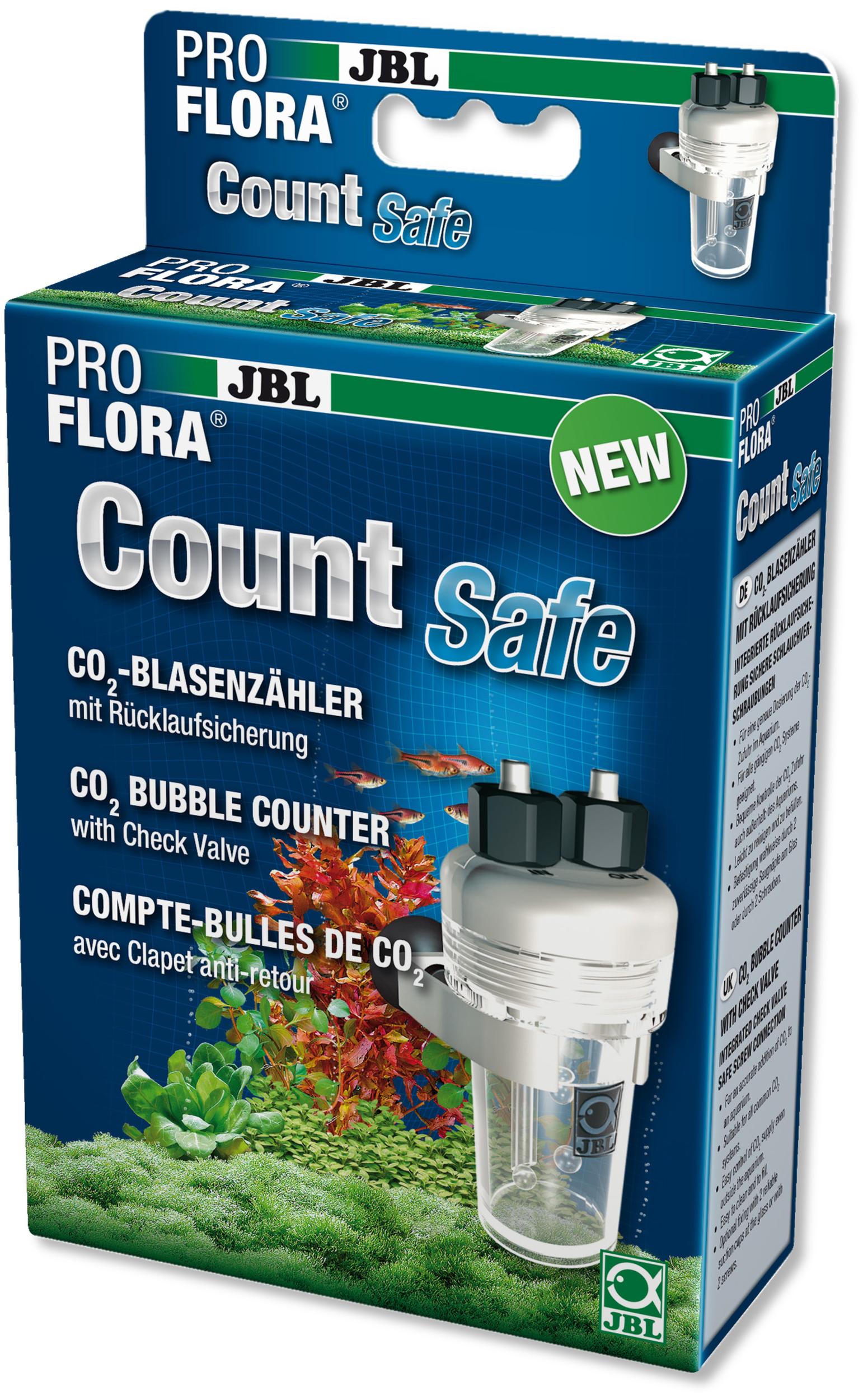 JBL CO2 Count Safe pour un comptage simple des bulle de CO2