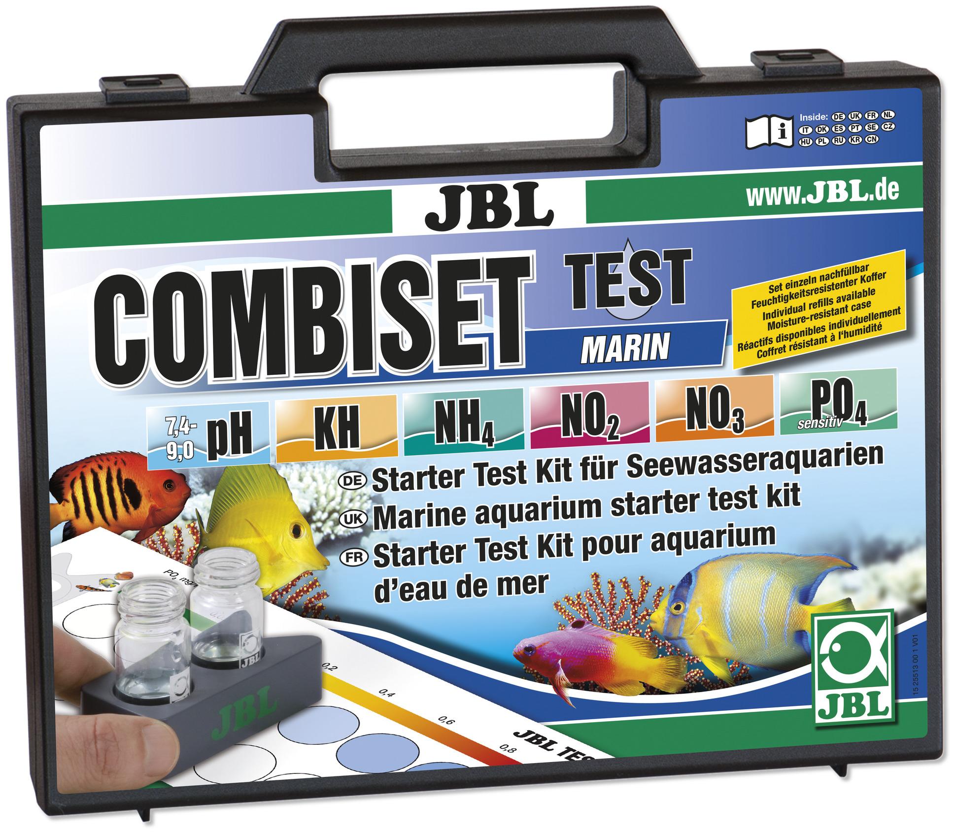 jbl-combiset-marin-mallette-de-tests-spéciale-aquarium-d-eau-de-mer
