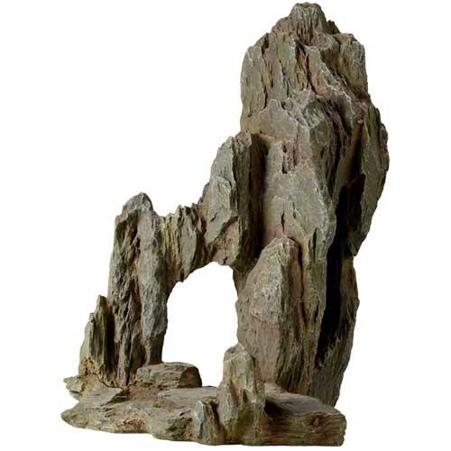 HOBBY Sarek Rock 3 roche artificielle 28 x 19,5 x 29 cm pour décoration d\'aquarium