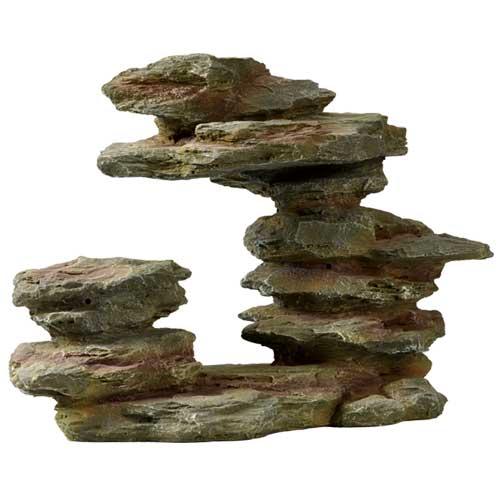 HOBBY Sarek Rock 2 roche artificielle 25 x 11 x 16 cm pour décoration d\'aquarium