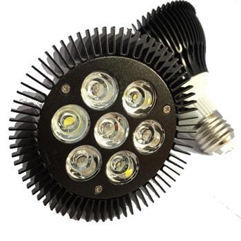 ASAQUA Par30 21W ampoule LEDs haute puissance 7 x 3W avec culot E27 pour nano-aquarium marin