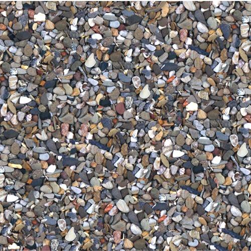 SCALARE Gravier Naturel Gros Foncé 3 à 6 mm 10 kg pour la décoration de votre aquarium