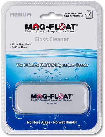 MAG FLOAT Long aimant flottant pour vitre d\'aquarium en verre jusqu\'à 10 mm d\'épaisseur