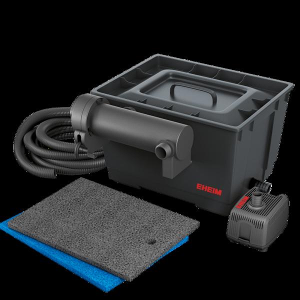 EHEIM Loop 5000 kit de filtration complet pour bassin jusqu\'à 5000 L