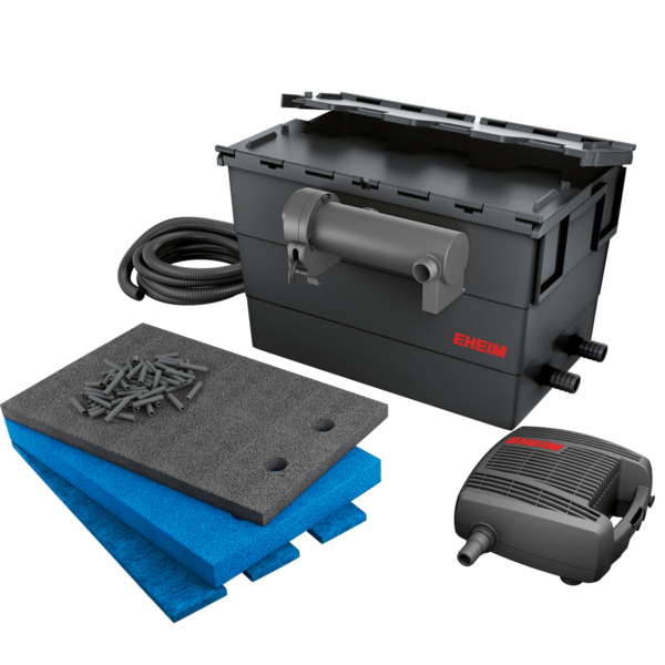 EHEIM Loop 10000 kit de filtration complet pour bassin jusqu\'à 10000 L