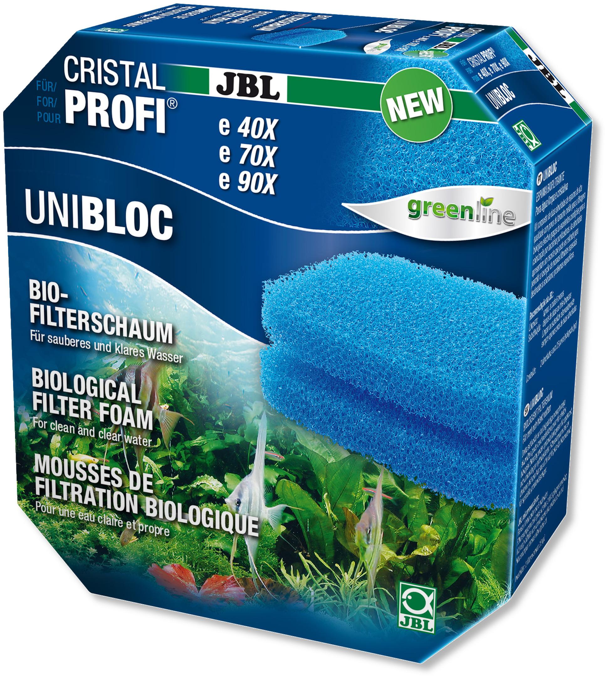 JBL UniBloc mousse de filtration pour filtres externes CristalProfi e700, e900, e401, e701, e901, e402, e702 et e902