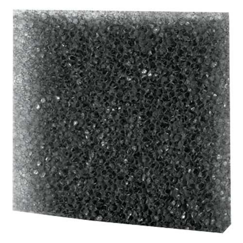 HOBBY Plaque de Mousse filtrante Noire 50 x 50 x 2 cm grosse mailles