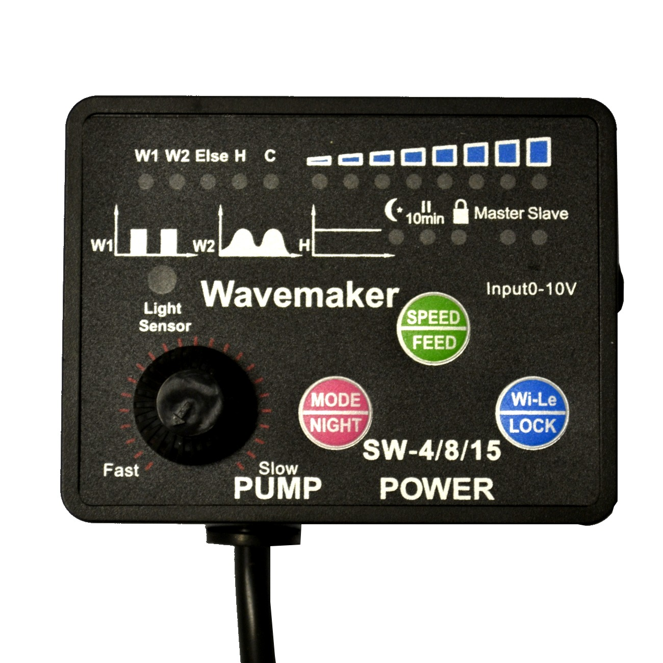 JEBAO JECOD Contrôleur Wireless pour une pompe SW-4, SW-8, SW-15 et WP, RW