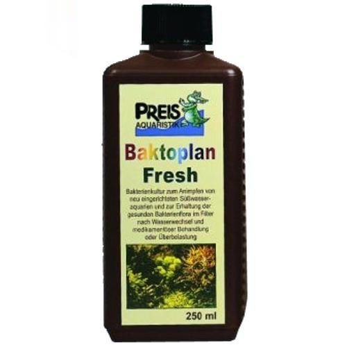 PREIS Baktoplan Fresh 250 ml apporte de nombreuses bactéries de différentes souches en aquarium d\'eau douce