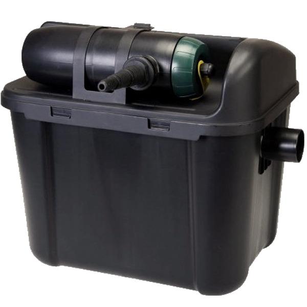 VT Starter Filter Set 3000 kit de filtration multi-chambres avec stérilisateur UV-C 5W et pompe 1000 L/h pour bassin jusqu\'à 3000 L