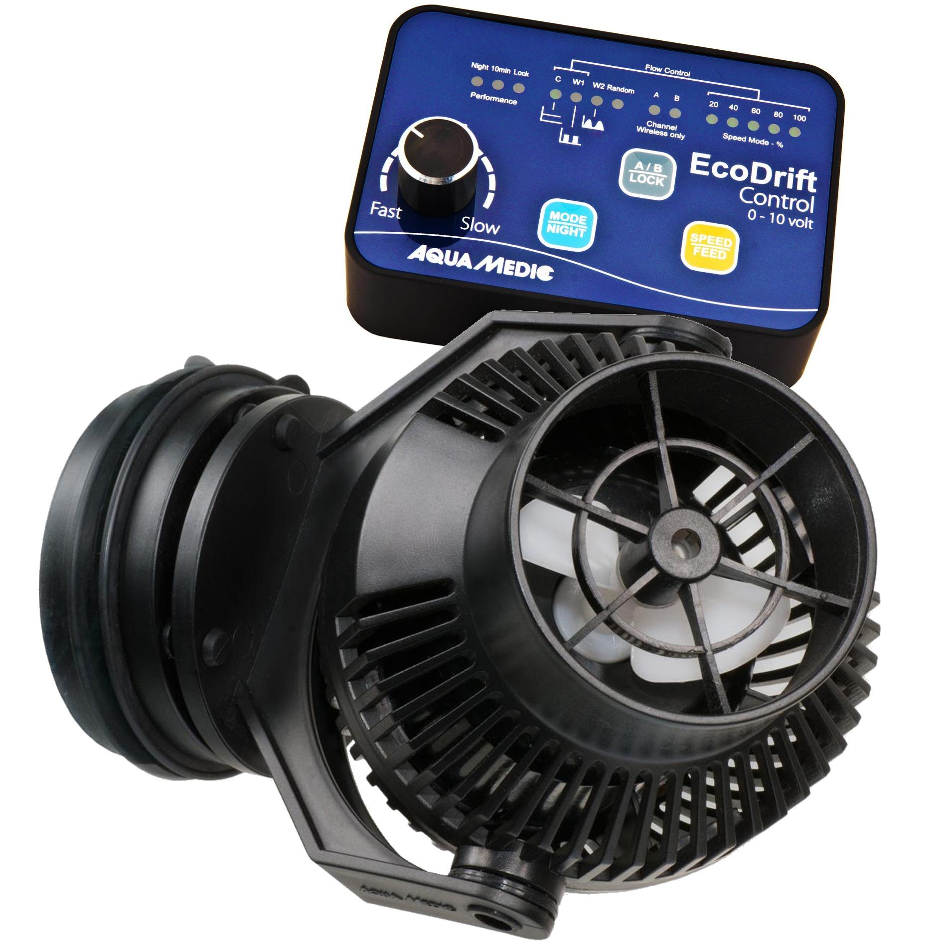 AQUA MEDIC ECODrift 20.1 pompe de brassage 4000 à 20000 L/h avec contrôleur électronique pour aquarium jusqu\' à 2000L