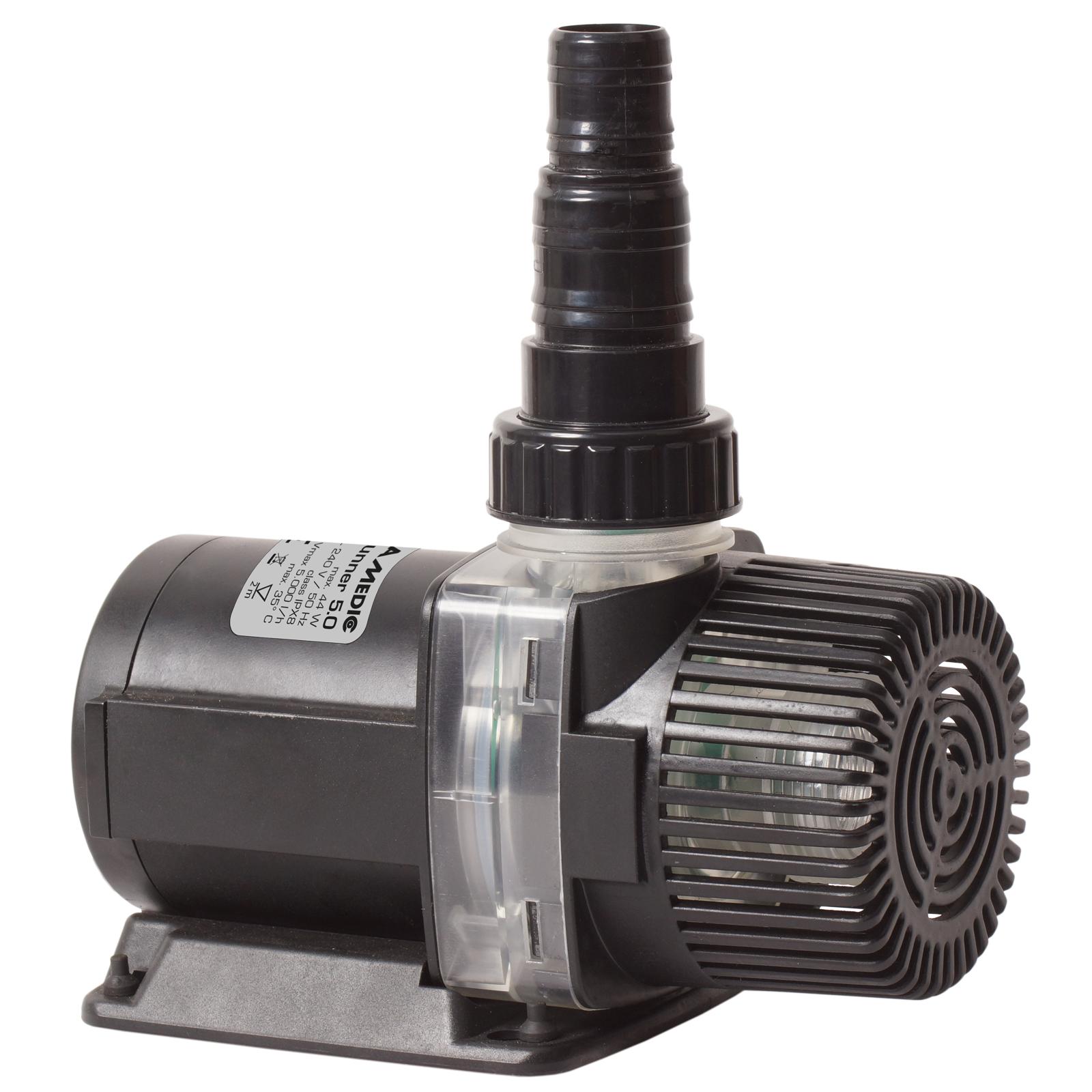 AQUA MEDIC AC Runner 5.0 pompe de relevage 5000 L/h pour aquarium d\'eau douce et d\'eau mer