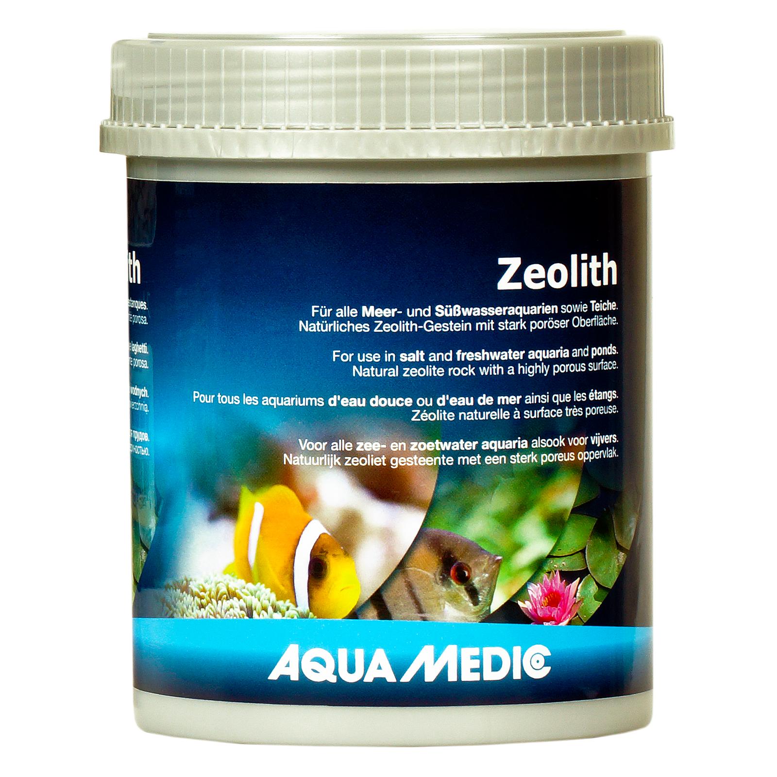 AQUA MEDIC Zeolith 900 gr. 10 - 25 mm zéolite à surface ultra-poreurse pour eau douce, eau de mer et bassin