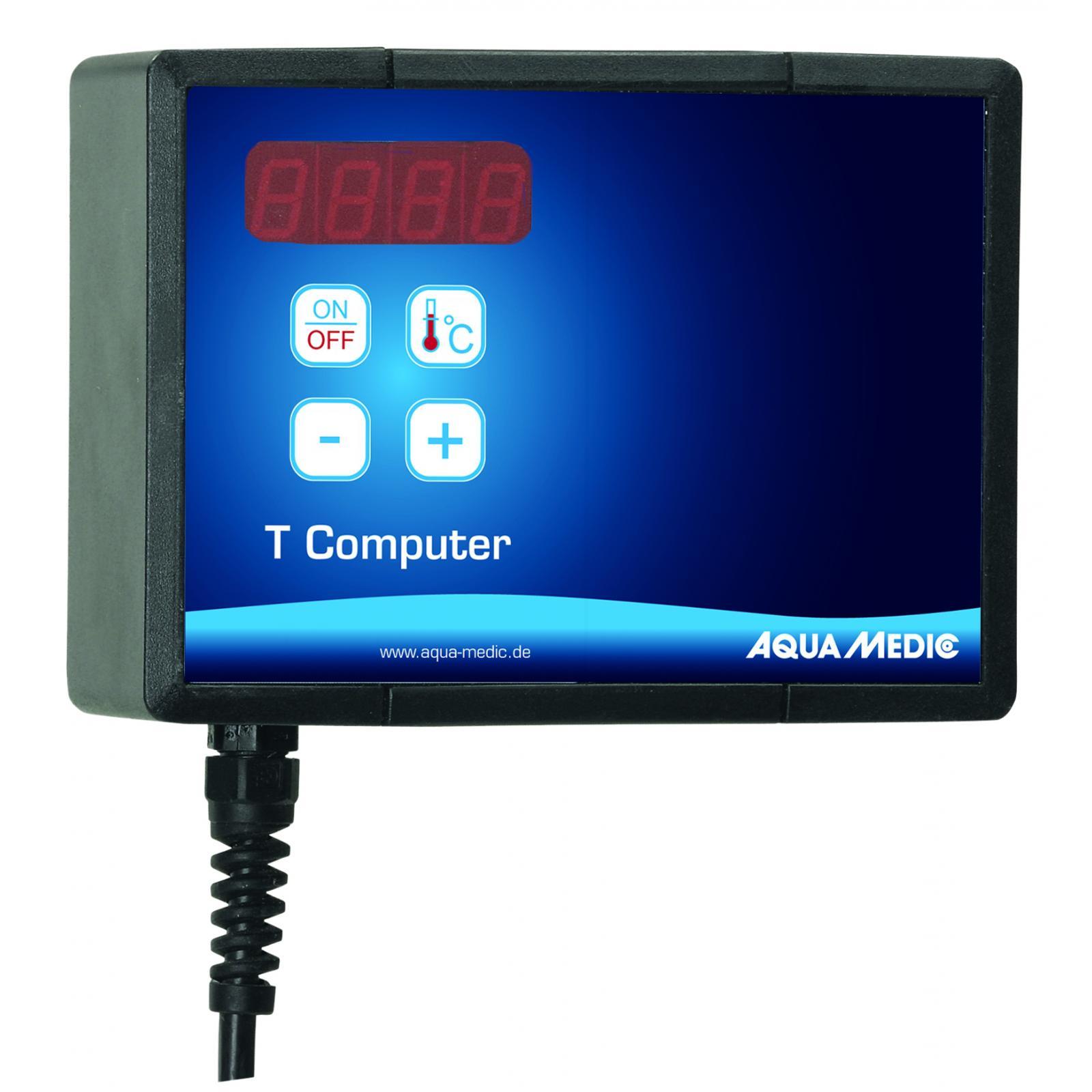 AQUA MEDIC T Computer-Set appareil de mesure et de contrôle haute précision de température pour groupe froid ou chauffage