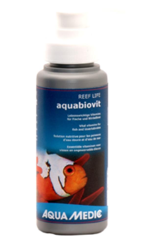 aqua-medic-aquabiovit-100-ml-vitamines-poissons-aquarium
