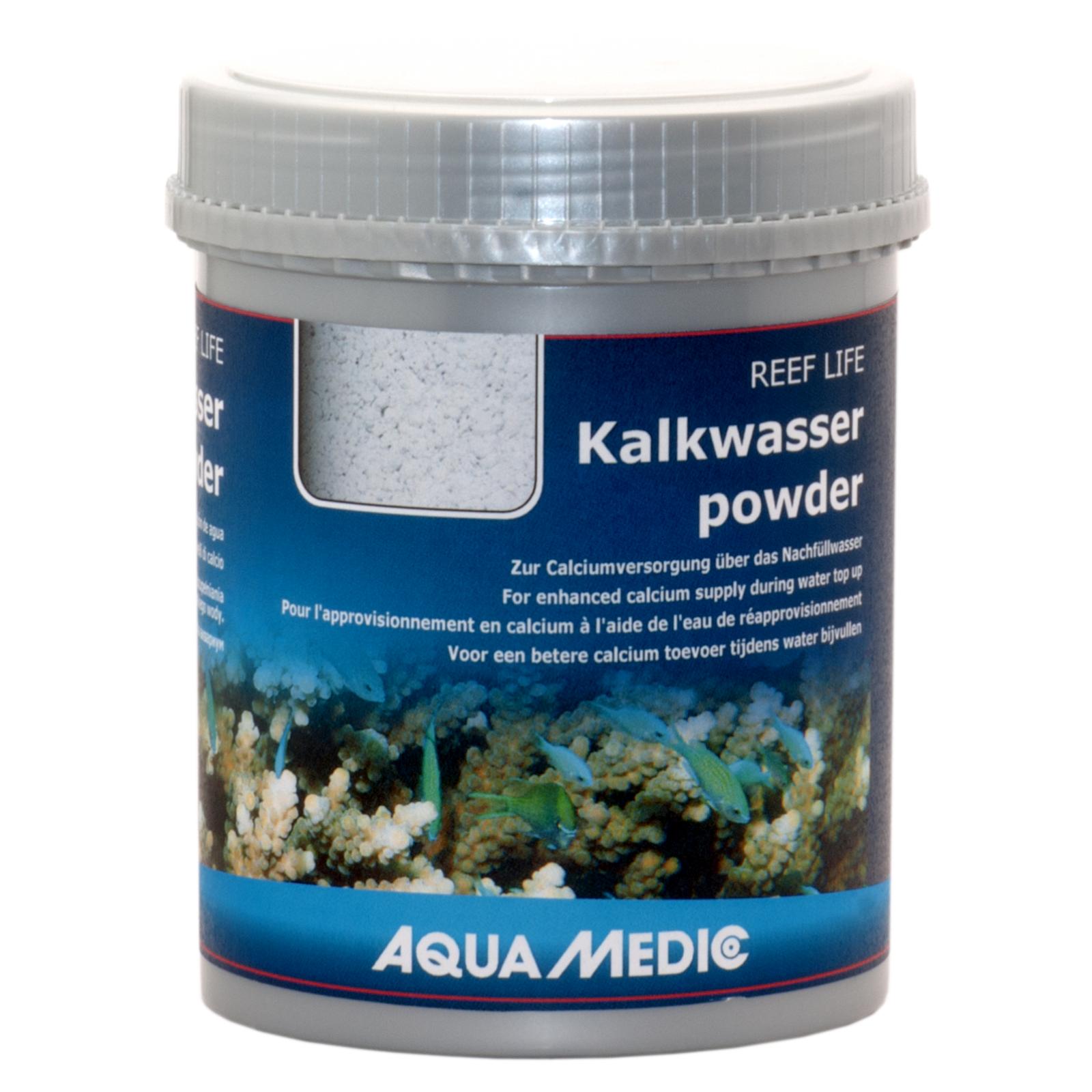 AQUA MEDIC Kalkwasserpowder 350 gr. Hydroxyde de calcium pour préparation d\'eau de chaux