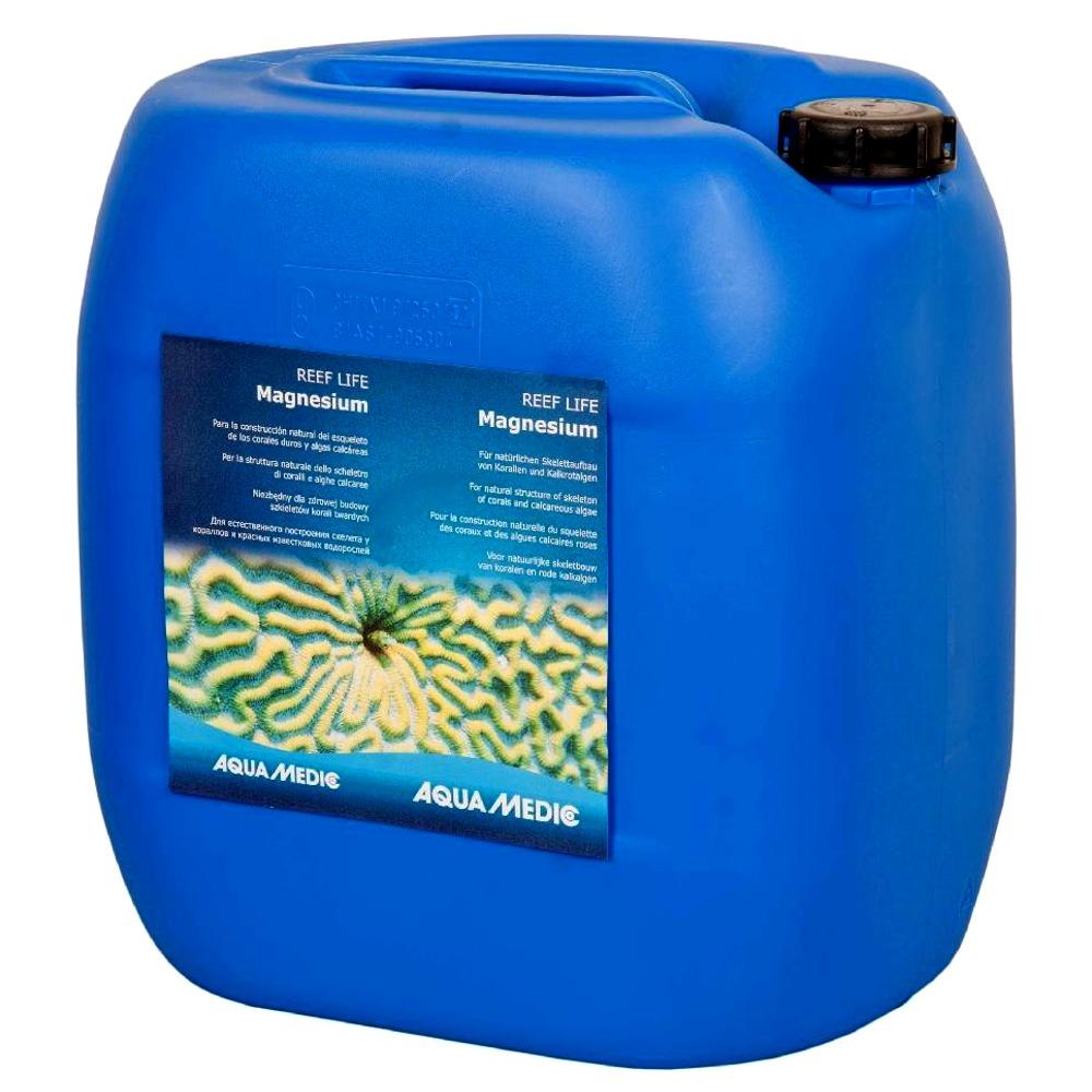 AQUA MEDIC REEF LIFE Magnesium 5000 ml complément de Magnésium pour la construction naturelles du squelette des coraux durs et coralline
