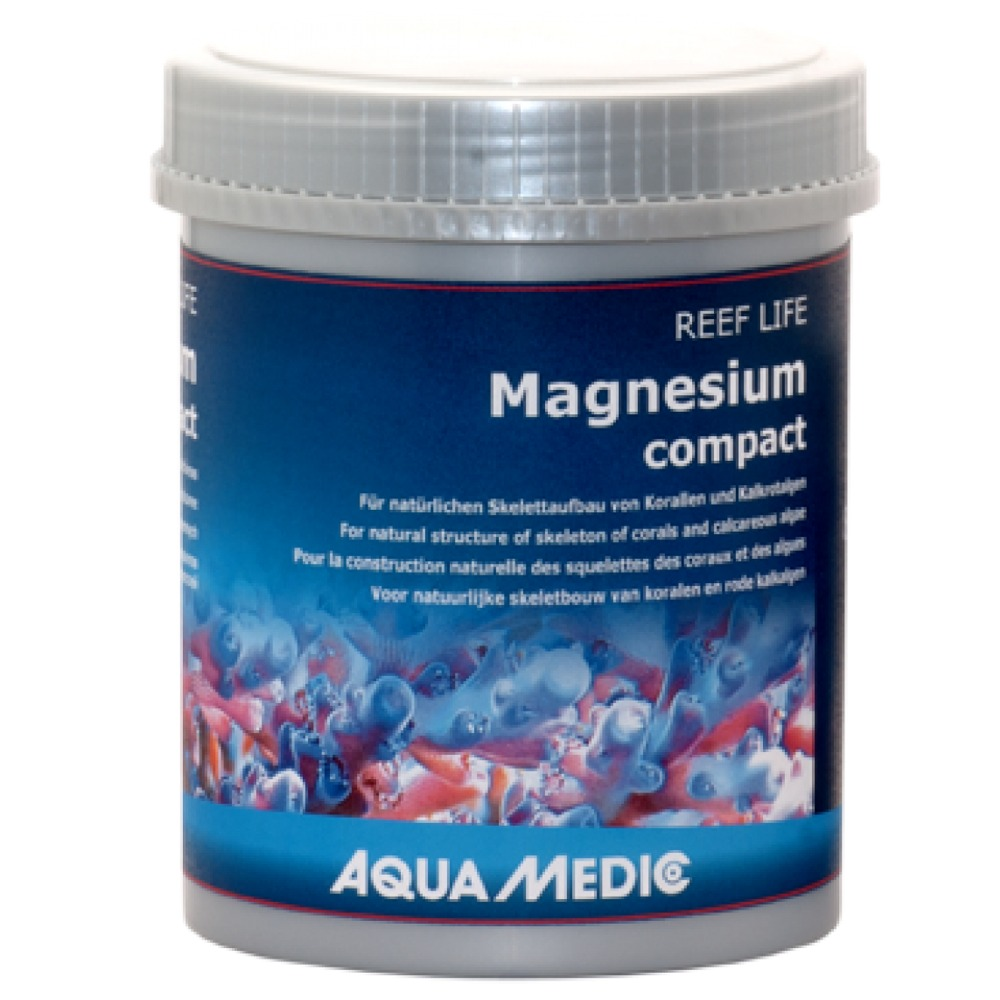AQUA MEDIC REEF LIFE Magnesium compact 800 gr. magnésium concentré en poudre pour aquarium d\'eau de mer