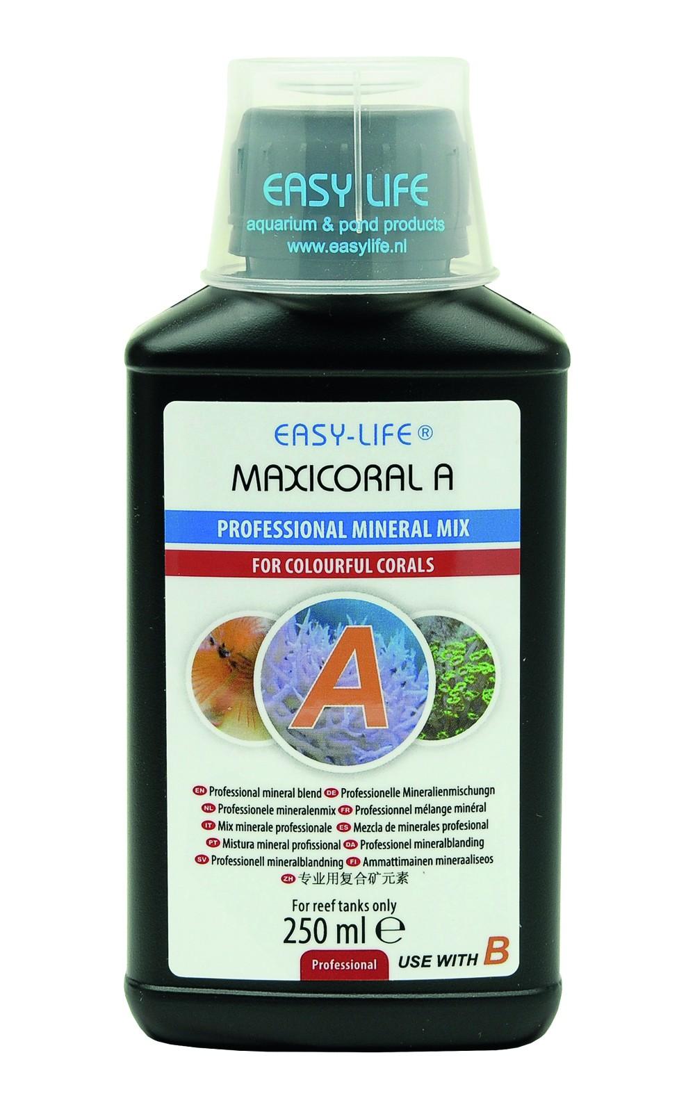 EASY-LIFE MaxiCoral A 250ml complexe de strontium-baryum et autres compléments pour soins des coraux