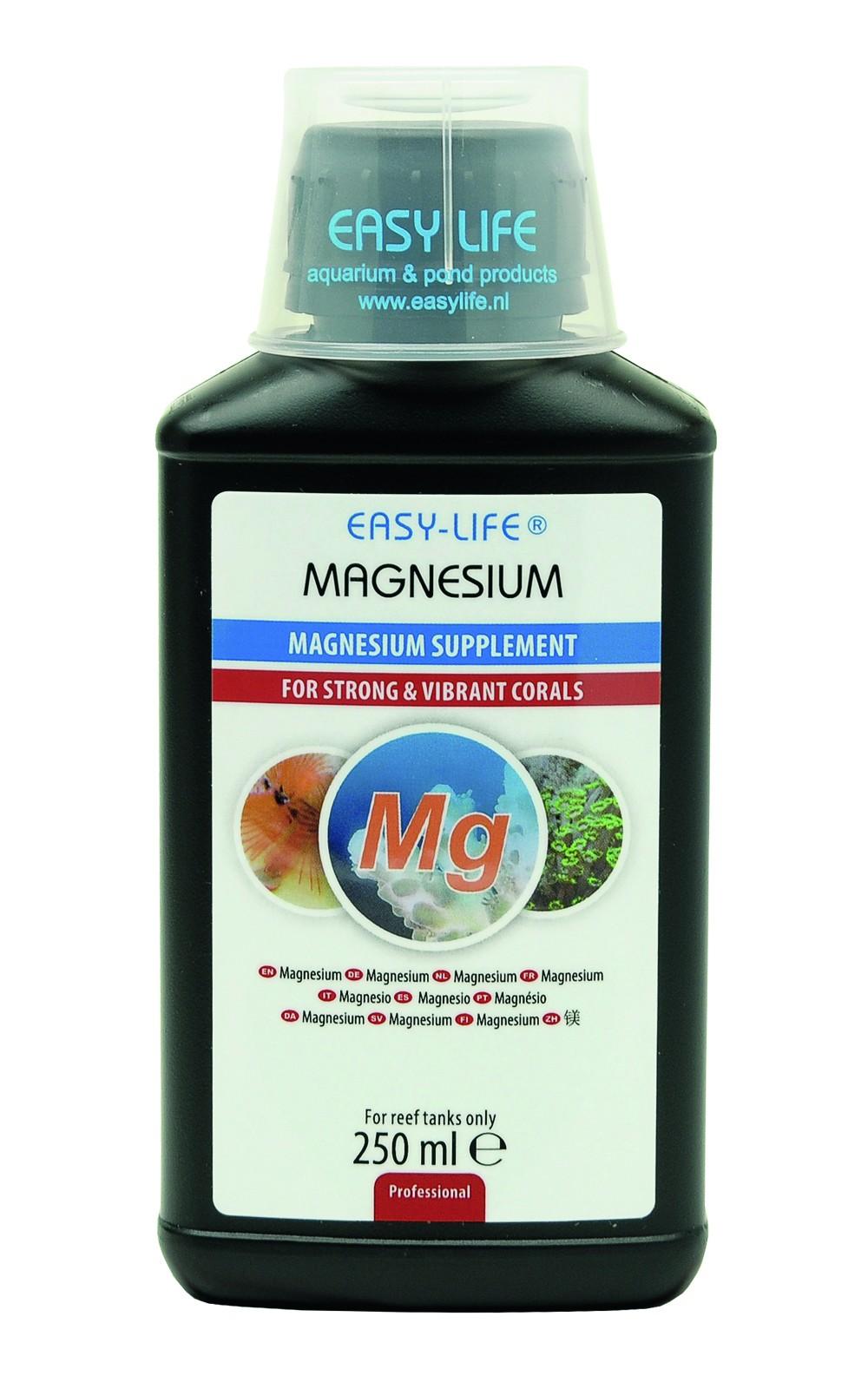EASY-LIFE Magnesium 250ml source de magnésium concentrée et puissante pour des coraux sains et merveilleux