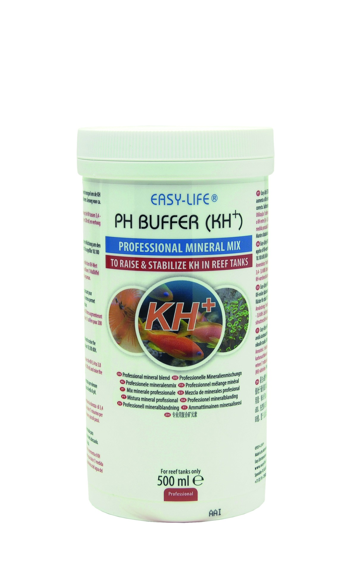 EASY-LIFE pH Buffer (KH+) 300ml mélange concentré pour augmenter le KH et stabiliser le pH au niveau correct