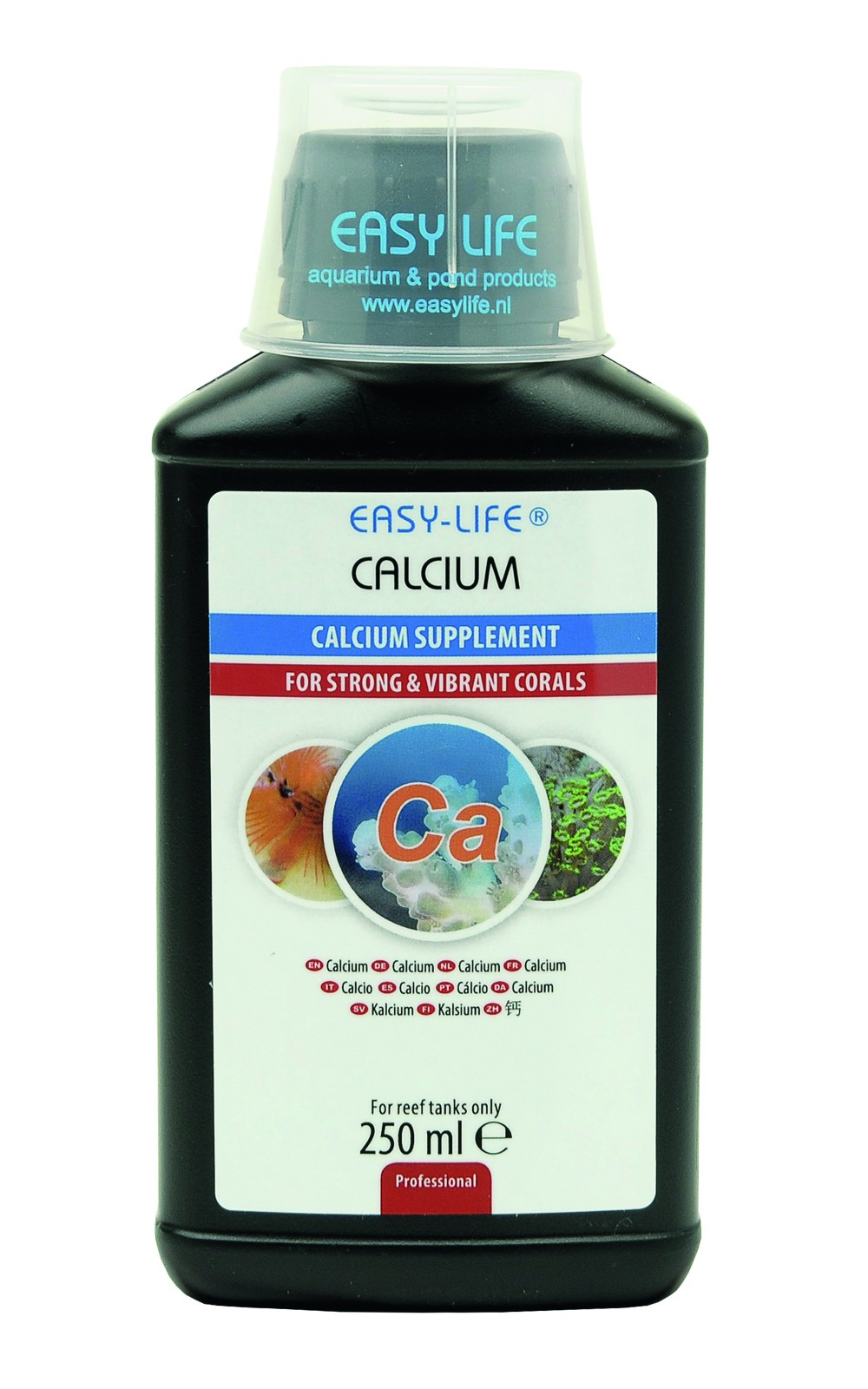 EASY-LIFE Calcium 250ml source de calcium concentrée et puissante pour des coraux sains et merveilleux
