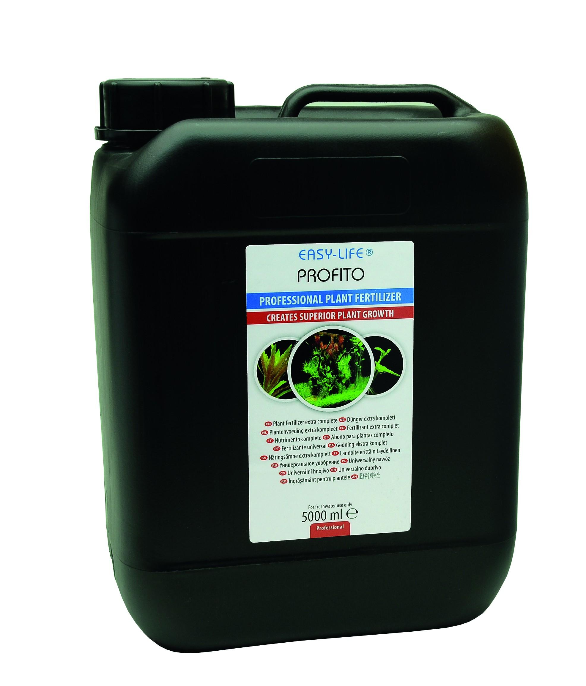 EASY-LIFE Profito 5L engrais universelle complet pour plantes d\'aquarium. Pour 50000 litres d\'eau