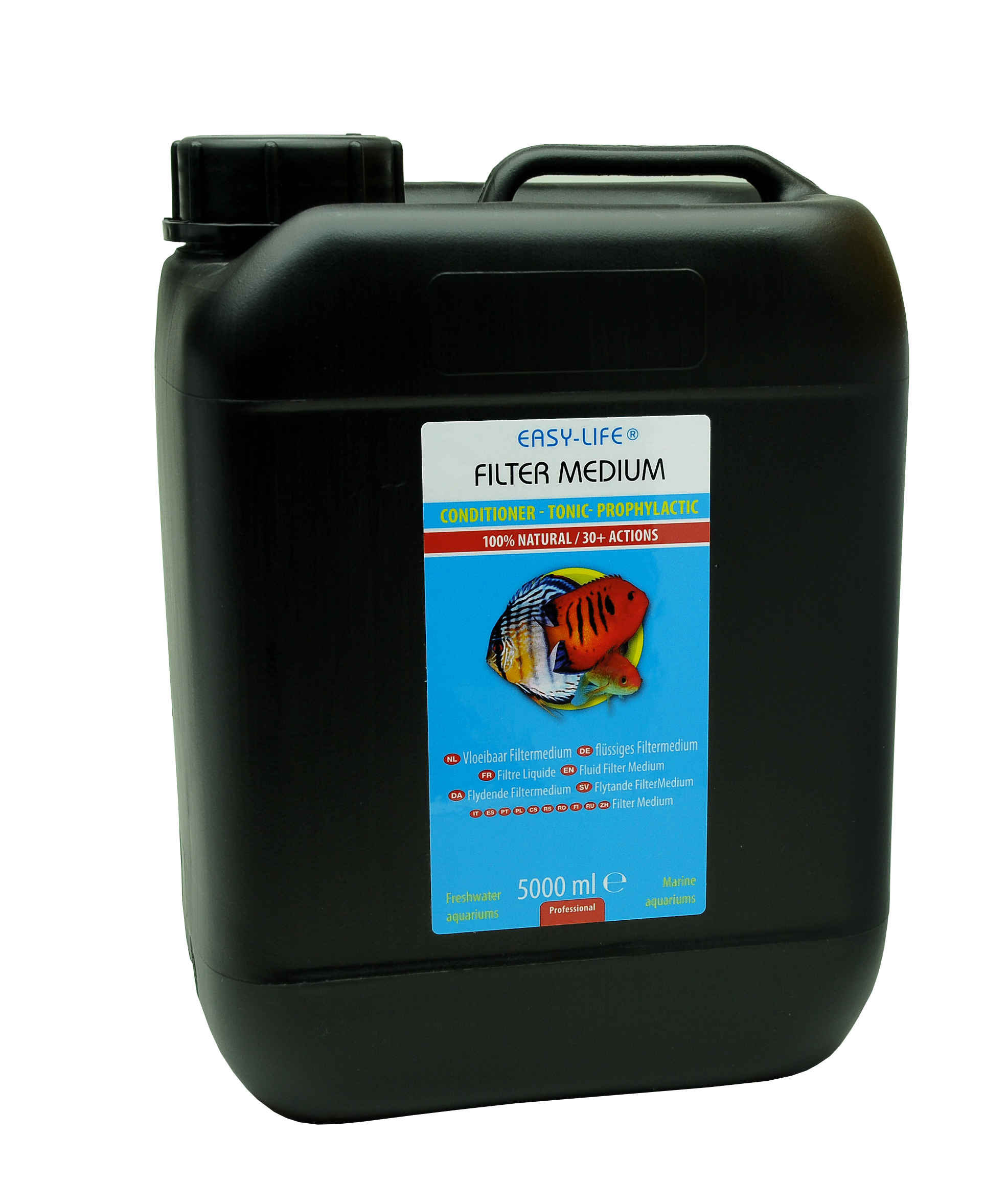EASY-LIFE Filtre Medium 5L conditionneur naturel multi-application pour aquariums jusqu\'à 15000 litres