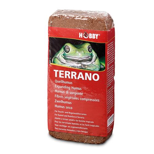 HOBBY Terrano fibres végétales compressées pour 2 x 4L de substrat