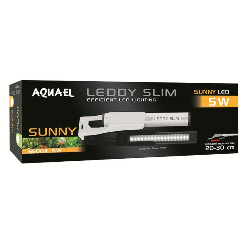 AQUAEL Leddy Slim Sunny 5W 6500 k lampe Led eau douce pour aquarium de 20 à 30 cm