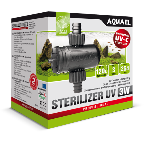 AQUAEL-AS-3W-stérilisateur- UV-AQUARIUM