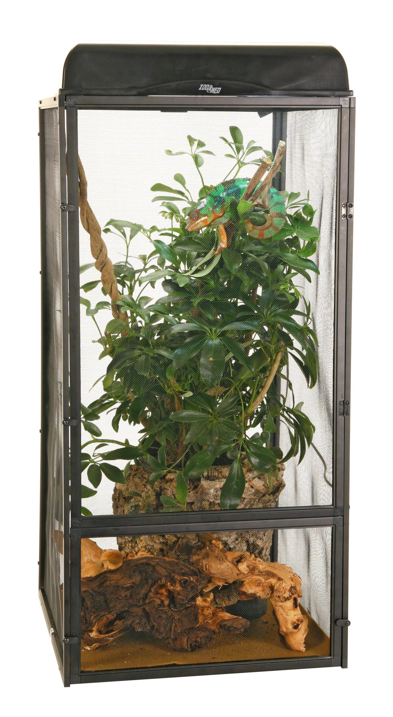ZOOMED Repti Breeze NT11 terrarium grillagé 41 x 41 x 76 cm pour reptiles