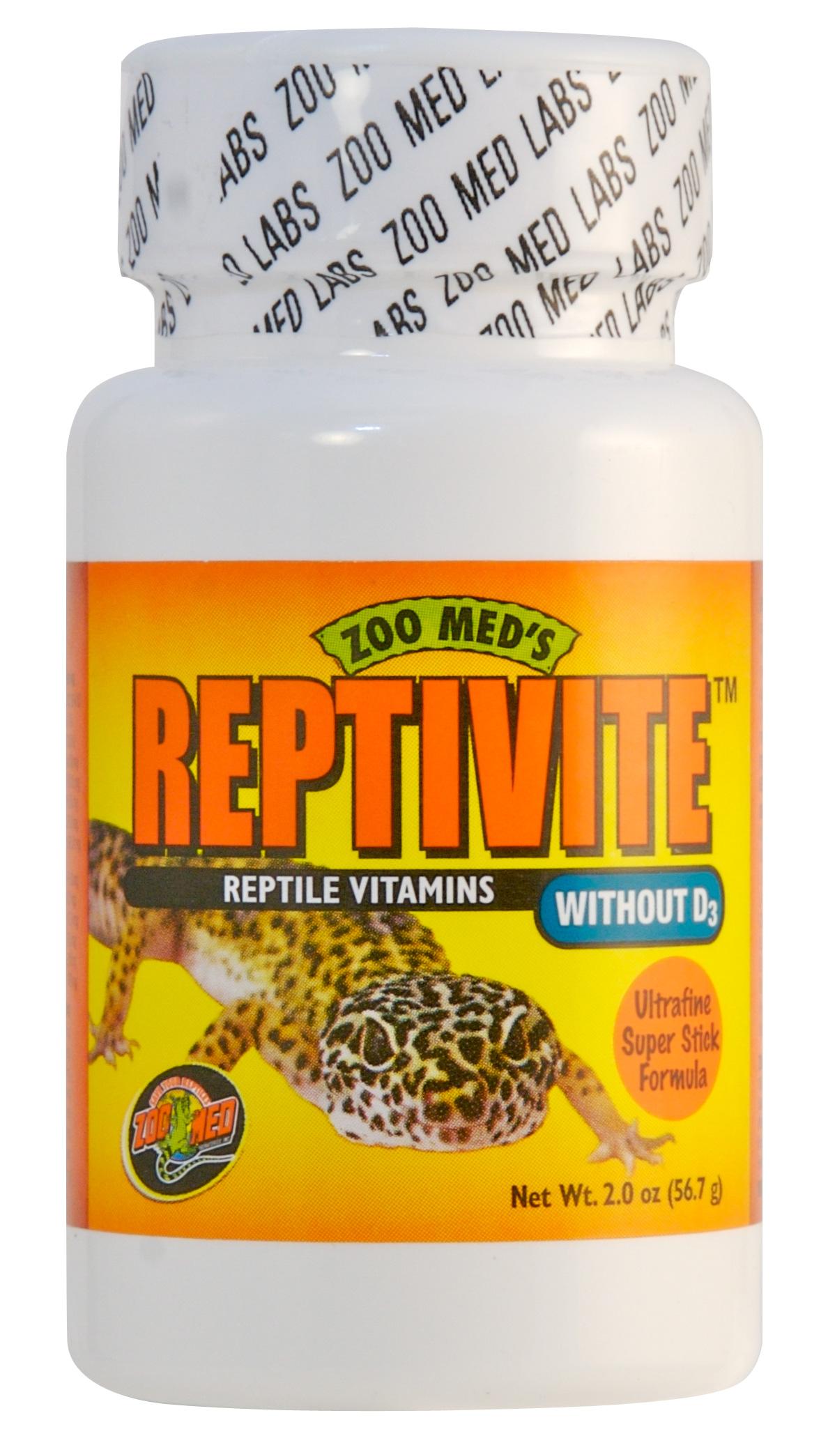 ZOOMED ReptiVite 56 gr mélange complet de vitamines, minéraux et acides aminés pour reptiles