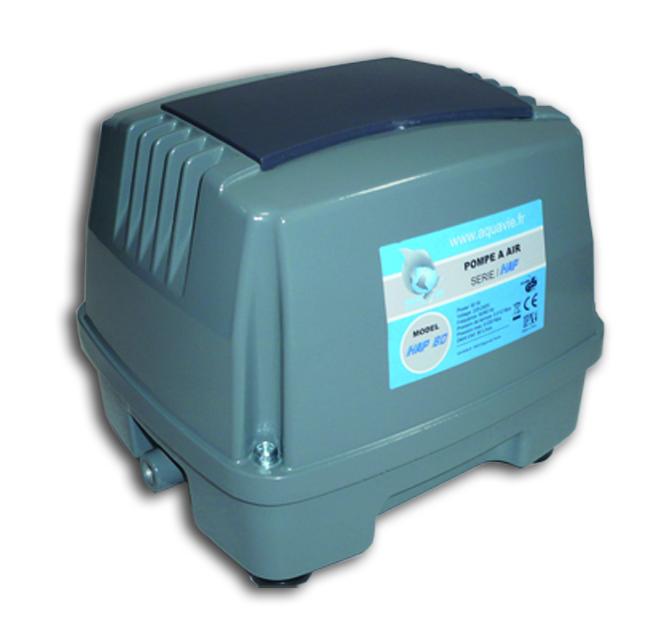 AQUAVIE Wind-HAP100 compresseur à air 6000 L/h avec répartiteur 26 sorties pour tuyau 4/6 mm