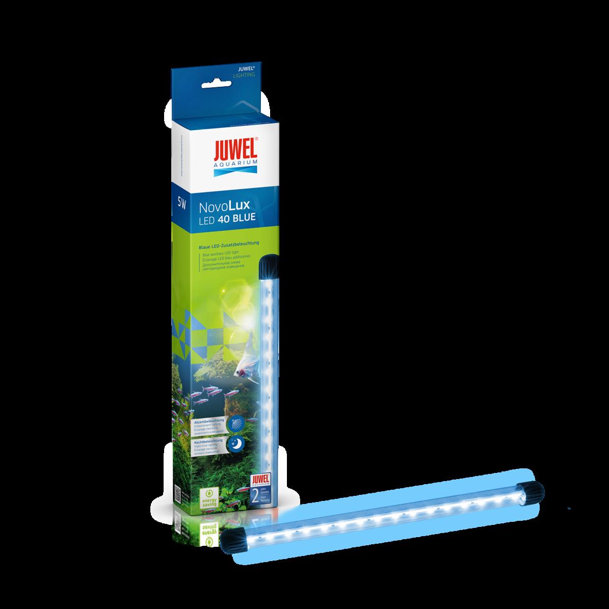 JUWEL NovoLux LED 40 lumière Bleue 14000°K tube Leds additionnel pour Vio 40, Primo 60, 70 et 110 ou tout autre aquarium