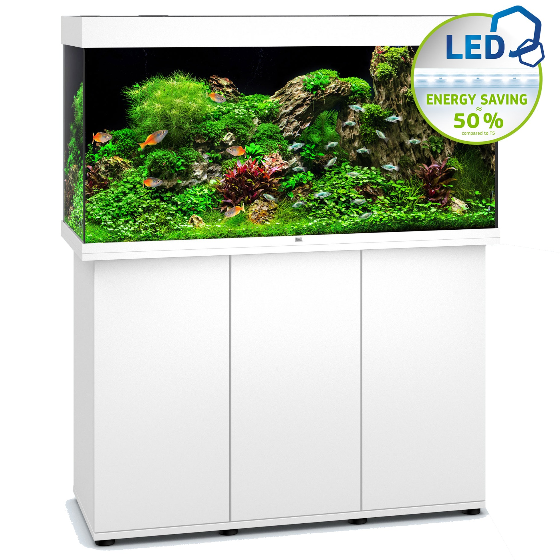 aquarium-juwel-rio-350-led-blanc Frais De Aquarium Table Basse Pas Cher