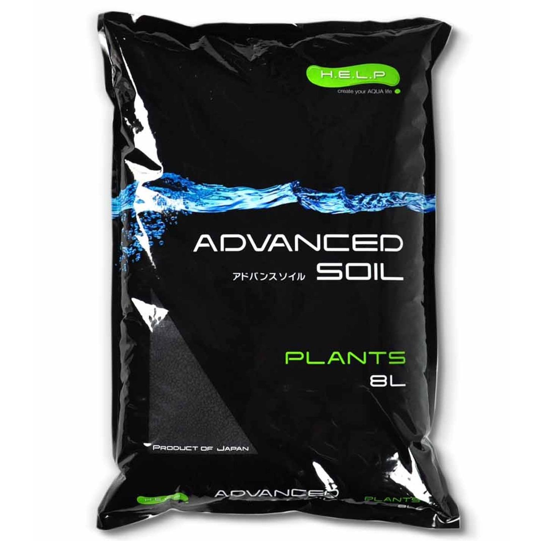 H.E.L.P. Advanced Soil Plants 8L substrat haut de gamme nutritif et décoratif pour aquariums plantés