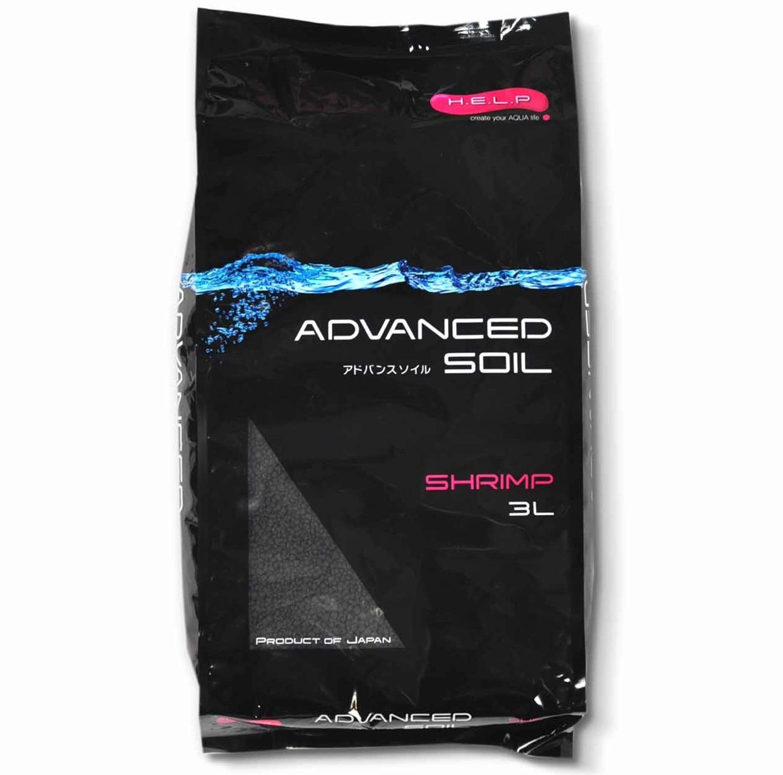 H.E.L.P. Advanced Soil Shrimp 3L substrat haut de gamme spécialement conçu pour aquariums avec crevettes