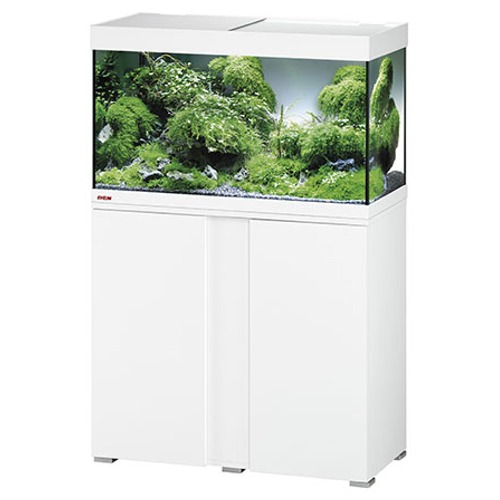 EHEIM-Vivaline-LED-126-L-ensemble-aquarium-equipe-80-cm-meuble-blanc