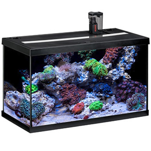 eheim aquastart 63 led marin noir aquarium quip eau de mer 60 cm 63l disponible avec ou sans. Black Bedroom Furniture Sets. Home Design Ideas