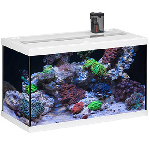 eheim aquastart 63 led marin blanc aquarium quip eau de mer 60 cm 63l disponible avec ou sans. Black Bedroom Furniture Sets. Home Design Ideas