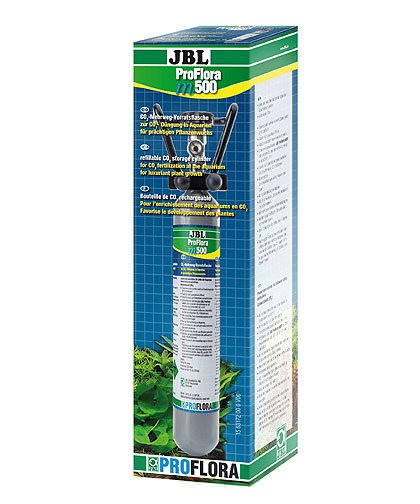 JBL Proflora m500 bouteille de CO2 de 500 gr. rechargeable