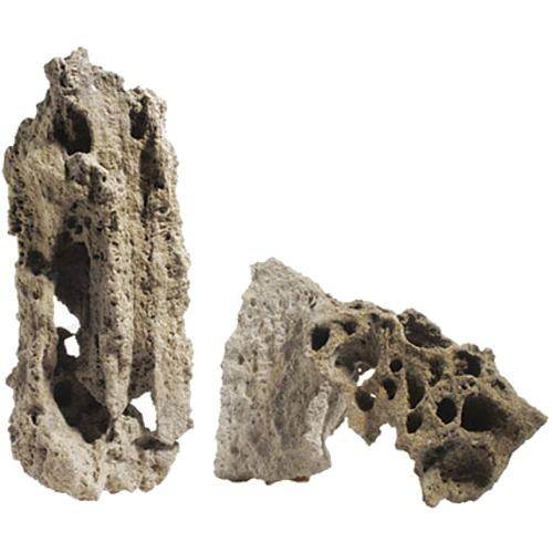 AQUADECO Moonstone prix au Kg roche naturelle pour aquarium d\'eau douce, eau de mer et terrarium