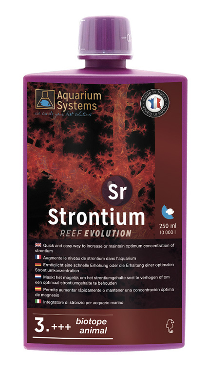 AQUARIUM SYSTEMS Strontium 3. +++ Biotope & Animals Reef Evolution 250 ml