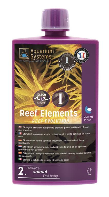 AQUARIUM SYSTEMS Extra 1 Reef Éléments 250 ml stimulant biologique pour la croissance des coraux