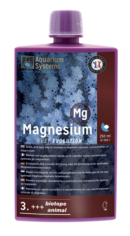 AQUARIUM SYSTEMS Magnesium 3. +++ Biotope & Animals Reef Evolution 250 ml
